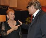 """Josefa Bracero y Amaury Pérez en """"Con 2 que se quieran"""". Foto: Petí"""