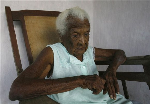 Juana, la mujer más longeva de Cuba