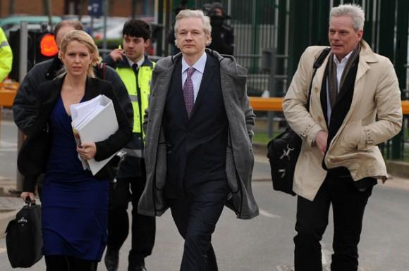Julian Assange. Foto: AFP