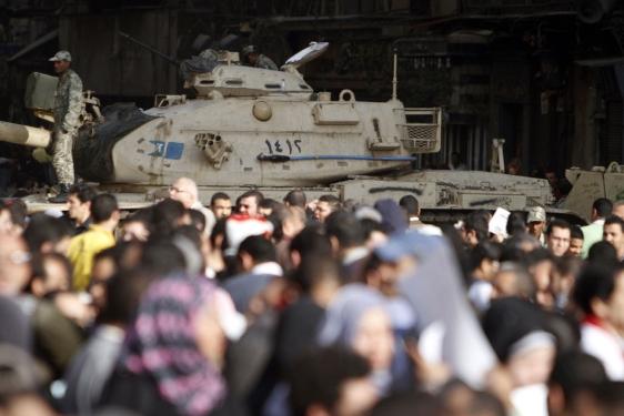Ley marcial en Egipto
