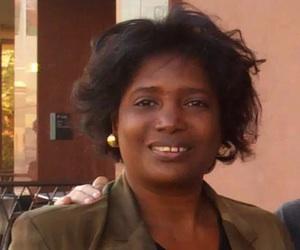 La Dr. Yleana Vizcaíno Dimé, en El Paso, Texas.