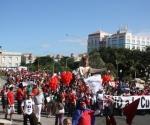 Marcha en la UPR. Foto: Gamelyn Oduardo
