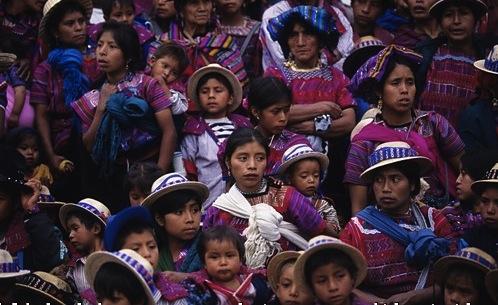 Mayas de Huehuetenango. Foto: