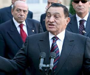 Hosni Mubarak. Foto tomada de Cubadebate