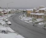 Una calle de El Paso, Texas, esta mañana. Foto: Getty