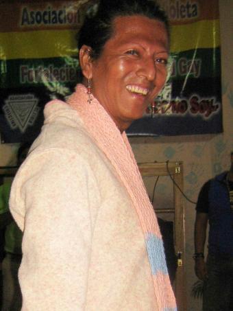 Óscar Martínez Salgado, travesti asesinado en Honduras en diciembre de 2010.-