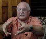 Otto Rodríguez Llerena entrevistado por AP. Foto: Franklin Reyes. AP