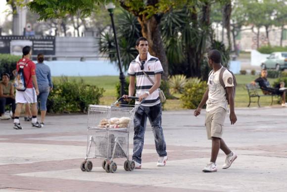 La Habana está tan tranquila como cualquier día del año. Foto: Roberto Suárez
