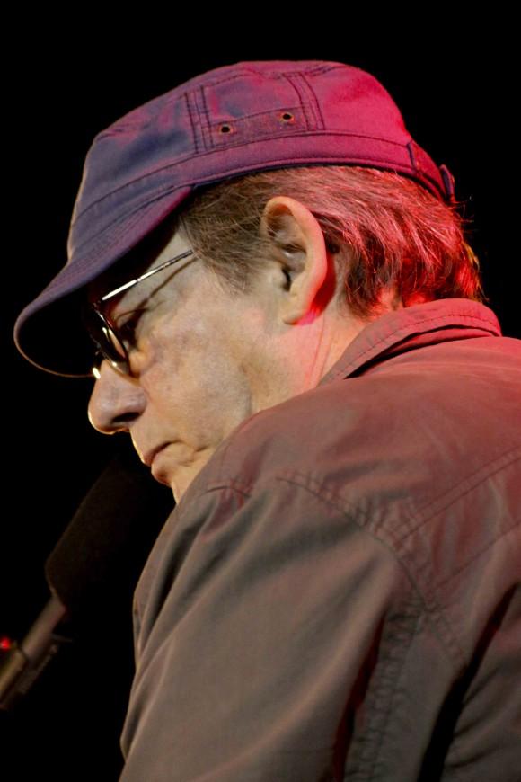"""Silvio """"de cerca y de verdad"""", diría alguien del público. Foto: Alejandro Ramírez Anderson"""