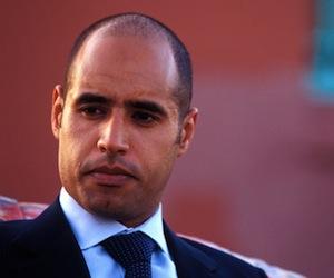Hijo de Gadafi asegura que los rebeldes están a las órdenes de Francia