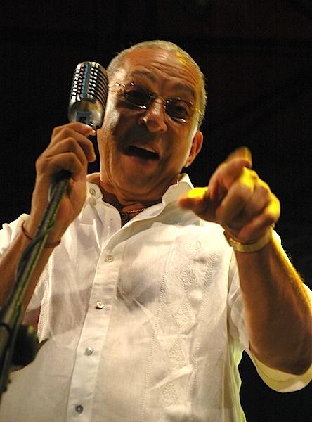 Juan Formell, director de los Van Van