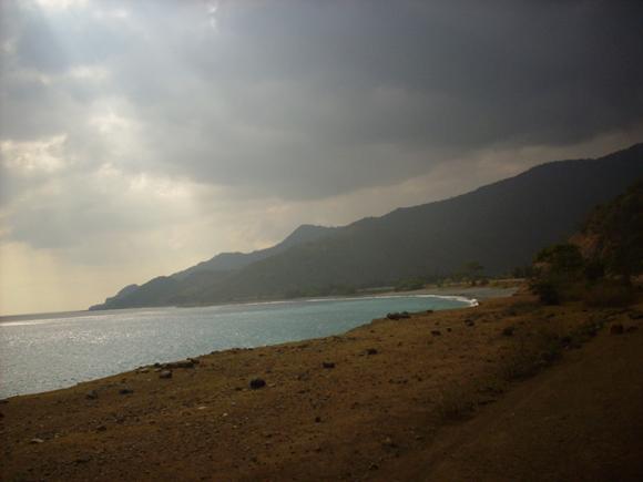 El paisaje impacta. Abruma. Parece un sitio prehistórico, un rincón del Pleistoceno. Foto: Aline Marie Rodríguez