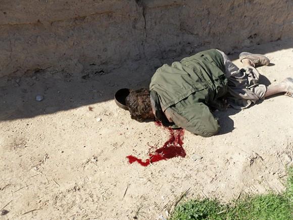 El ejército responsable de actos como estos ahora bombardea Libia en nombre de los derechos humanos.