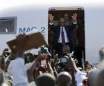 Llegada de Aristide a Puerto Príncipe.