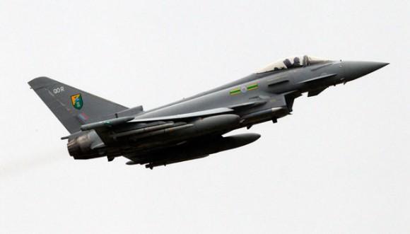 Foto: Eurofighter EF-2000 británico. REUTERS/Giampiero Sposito/Archivo