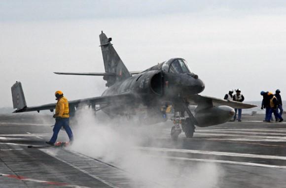 Jet Rafale de Francia. Foto: REUTERS/Jean-Paul Pelissier/Files