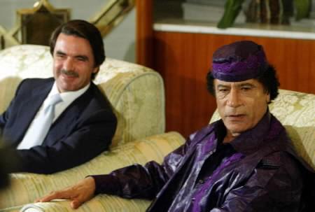 Con José María Aznar
