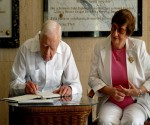 Jimmy Carter, ex-presidente de los Estados Unidos en La Habana