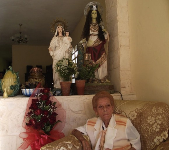 Celina González cumple 82 años. Foto: Marianela Dufflar
