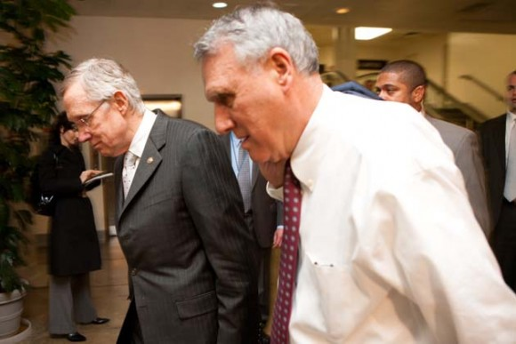 Líder de la mayoría en el Senado, Harry Reid (D-NV)
