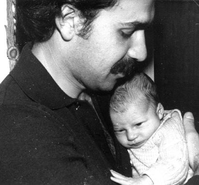 Carlos Aiub y su hijo