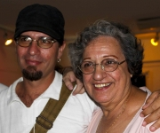 Estreno del documental Archivo Lidia Doce, del realizador Alejandro Ramírez Anderson, en La Habana.  8 de marzo de 2011. Foto: Jorge Ramírez