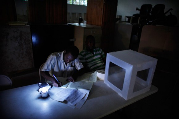 Elecciones en Haití. Foto: REUTERS/Eduardo Munoz