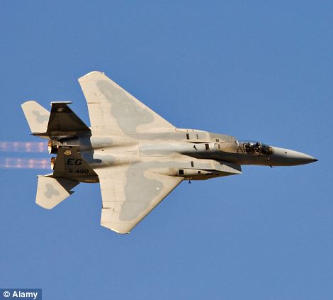 El F15E Eagle.