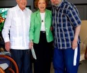James Carter, su esposa Rosalynn y Fidel Castro en La Habana. Foto: Alex Castro/ Cubadebate