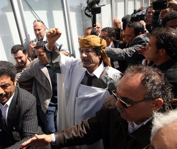 Muamar al Gadafi