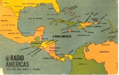 Radio Swan retransmitía desde una isla del litoral de Honduras