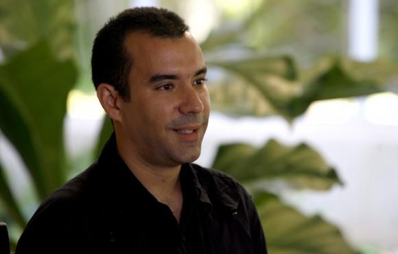 Dalexy, el agente Raúl de la Seguridad del Estado. Foto: Ismael Francisco