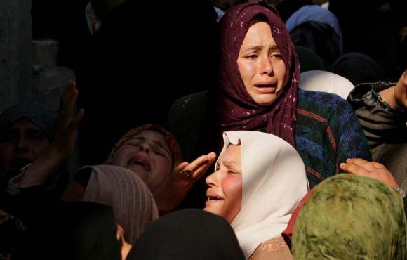 Ataque de Israel a Gaza. Foto: Global Research
