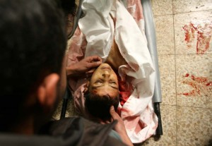 Ataque de Israel a Gaza. Foto: Global Research-in-gaza