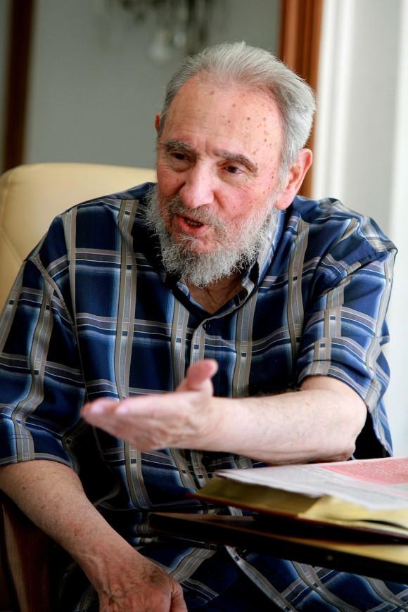 Encuentro de Fidel y Carter en La Habana. Foto: Alex Castro/Cubadebate