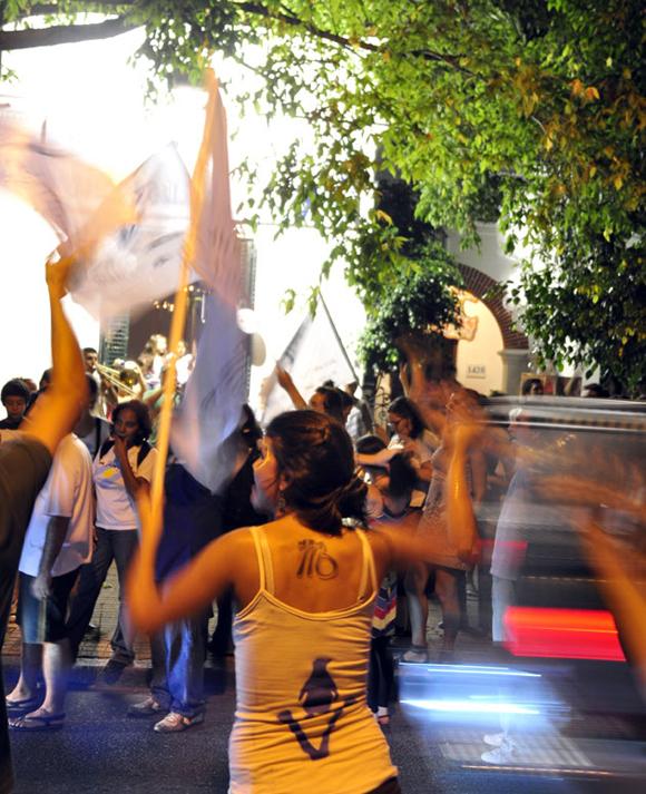 Jóvenes argentinos. Foto: Kaloian