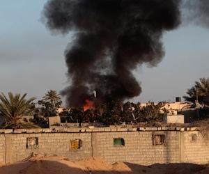 Libia denuncia que 105 niños fueron secuestrados en Misrata tras bombardeo