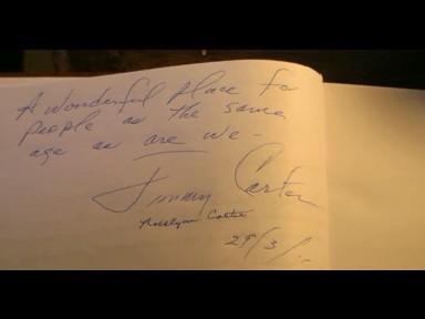 Libro firmado por Carter