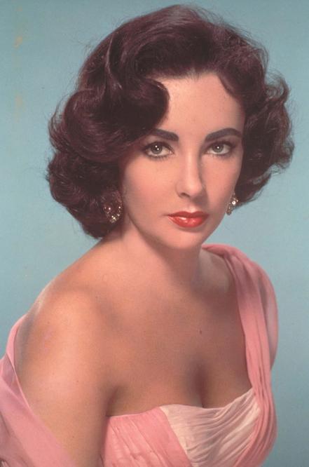 Liz Taylor en 1960.