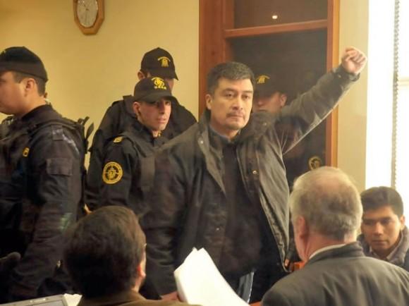El líder de la Coordinadora Arauco Malleco, Héctor Llaitul.