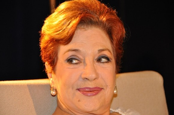"""Lourdes Torres, en """"Con 2 que se quieran"""". Foto: Petí"""