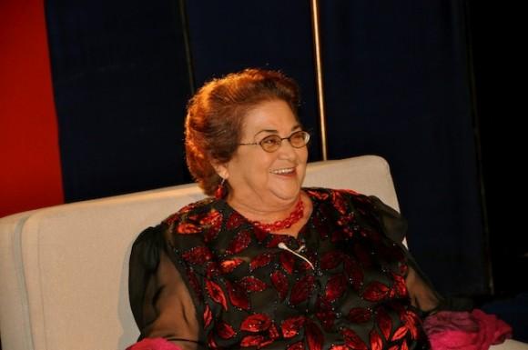 """La actriz Marta del Río en """"Con 2 que se quieran"""". Foto: Petí"""
