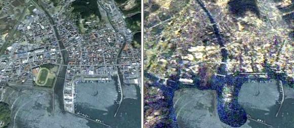 Minamisanriku, antes y después del terremoto