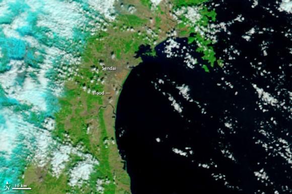 Imagen de la NASA antes