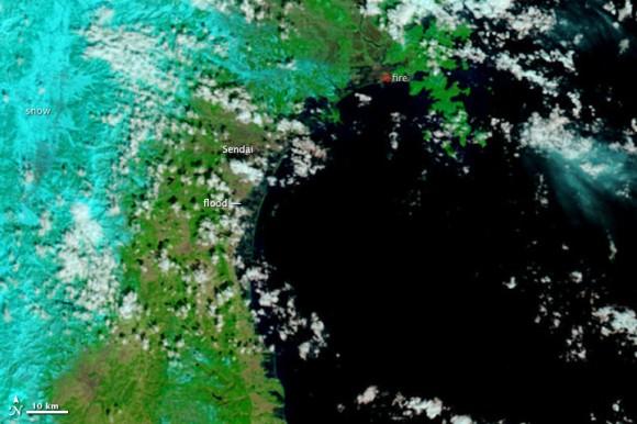 Imagen de la NASA después