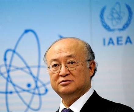 El director general del Organismo Internacional de Energía Atómica (OIEA), Yukiya Amano