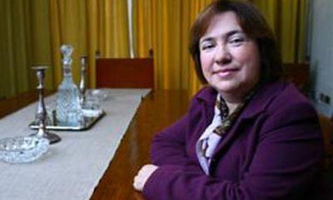 Olga Ulianova, sobrina de Lenin.