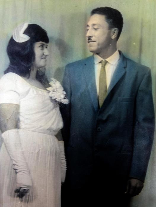 Fotografía de Argelio tomada durante su boda en la Ciénaga de Zapata. \ Foto: Cortesía del entrevistado