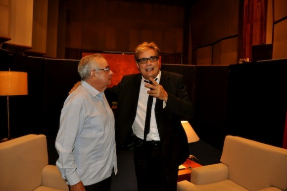 Amaury y Raúl Roa Kourí. Foto: Petí