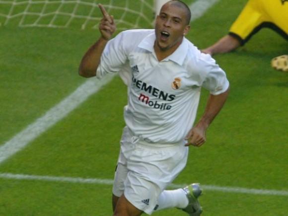 Ronaldo en el Real Madrid de los Galácticos